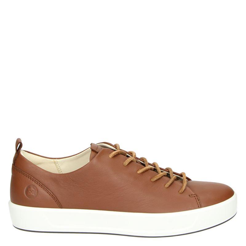 Ecco Soft 8 - Lage sneakers - Bruin