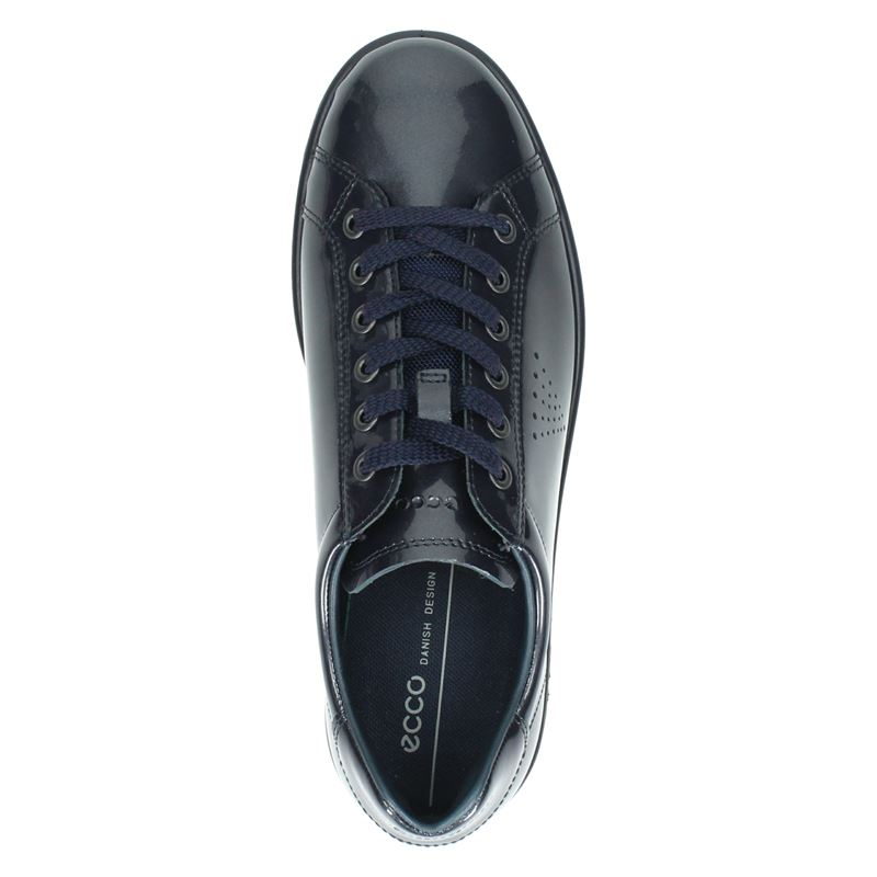 Ecco Soft 1 - Lage sneakers - Blauw