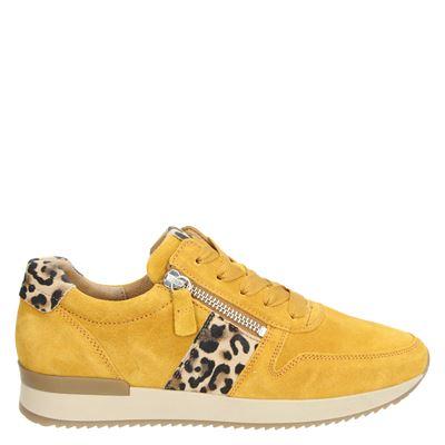Gabor dames sneakers geel