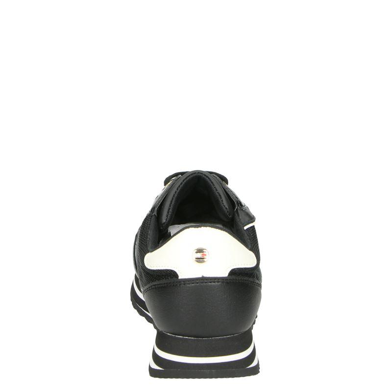 Tommy Hilfiger Sport Retro Branded - Lage sneakers - Zwart