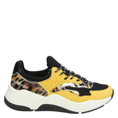 Claudia Ghizzani dames sneakers geel