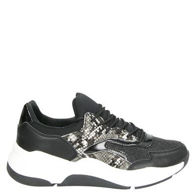 Dolcis dames sneakers zwart