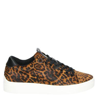Hub dames sneakers bruin