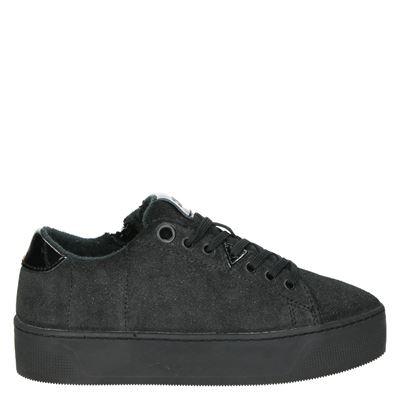 Hub dames sneakers zwart