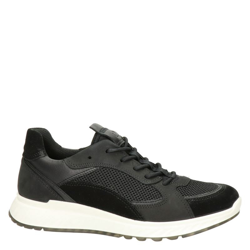 Ecco ST.1 W - Lage sneakers - Zwart