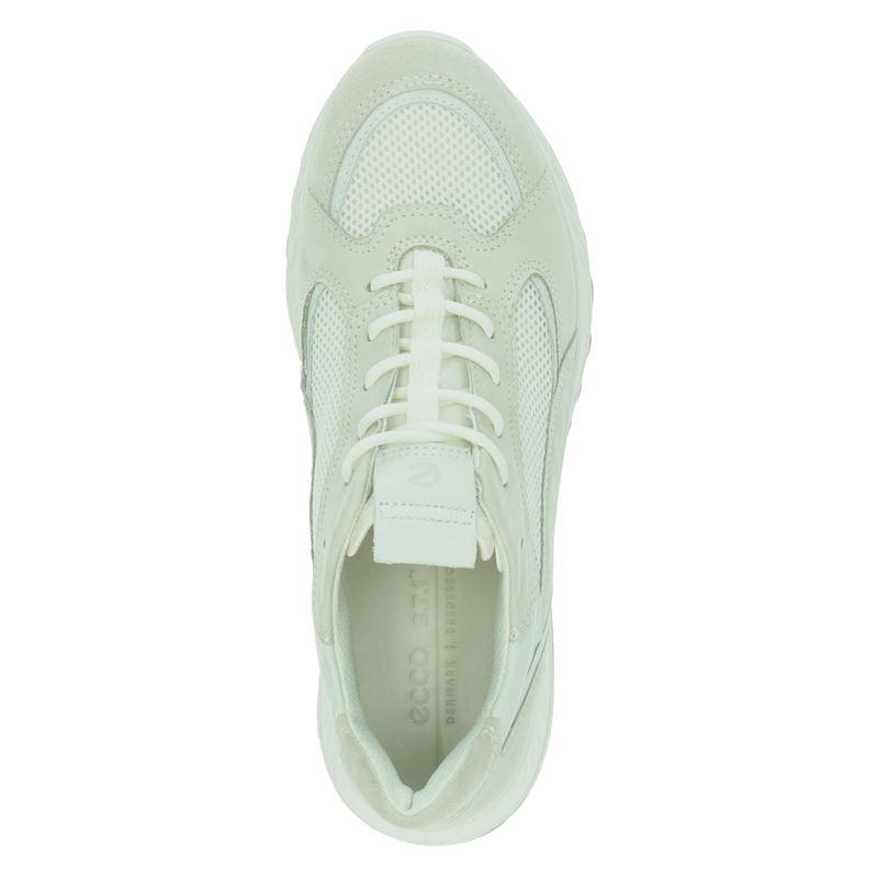 Ecco ST.1 W - Lage sneakers - Ecru
