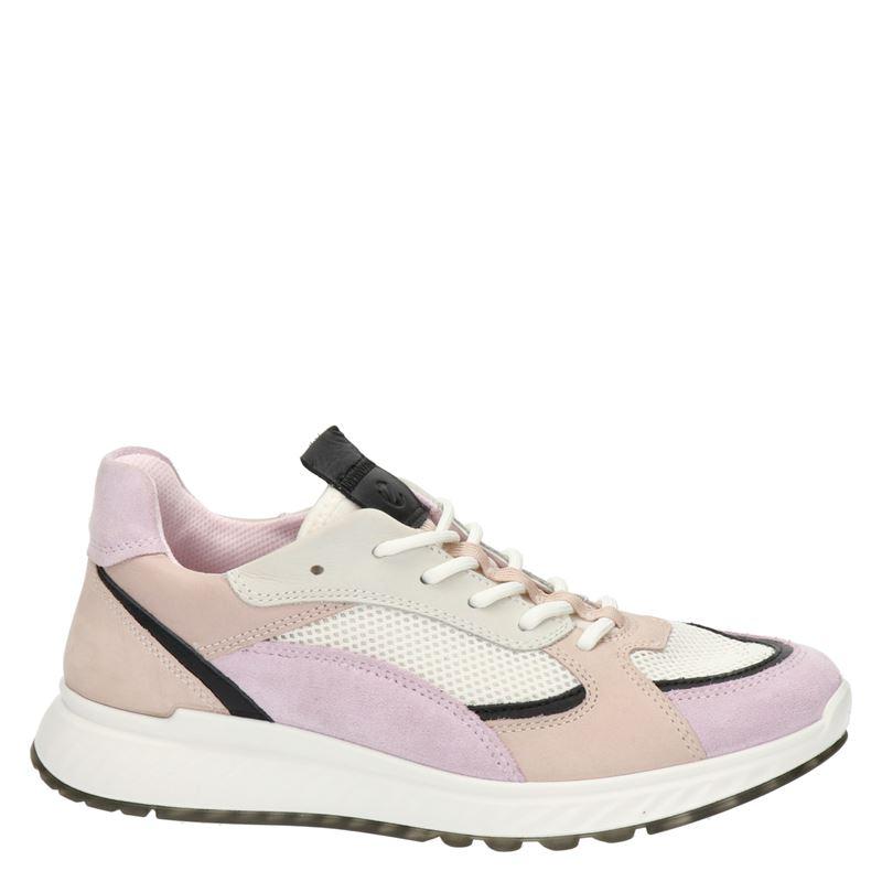 Ecco ST.1 W - Lage sneakers - Roze