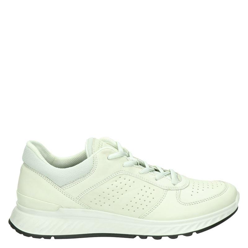 Ecco Exostride comfort leren sneakers off white online kopen