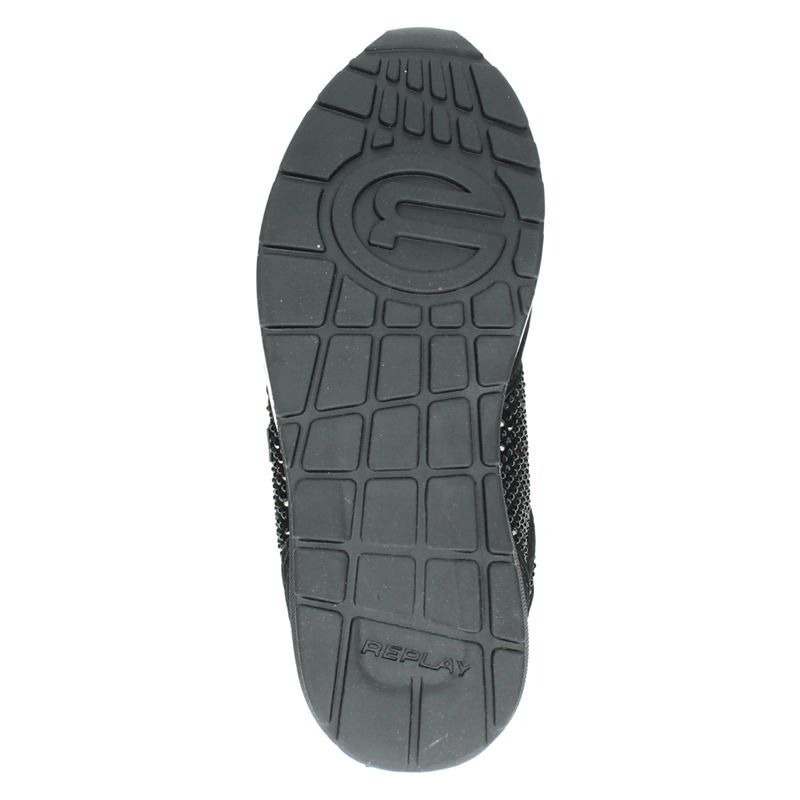 Replay Keeling - Lage sneakers - Zwart