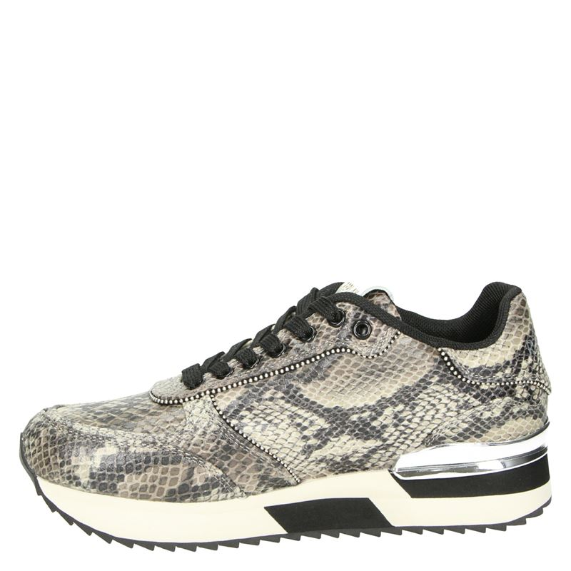 Replay Sunflower - Lage sneakers - Bruin