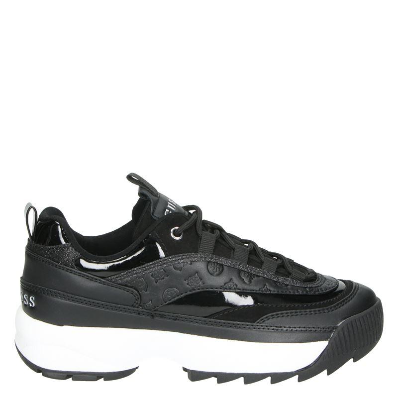 Guess Kaysie - Dad Sneakers - Zwart