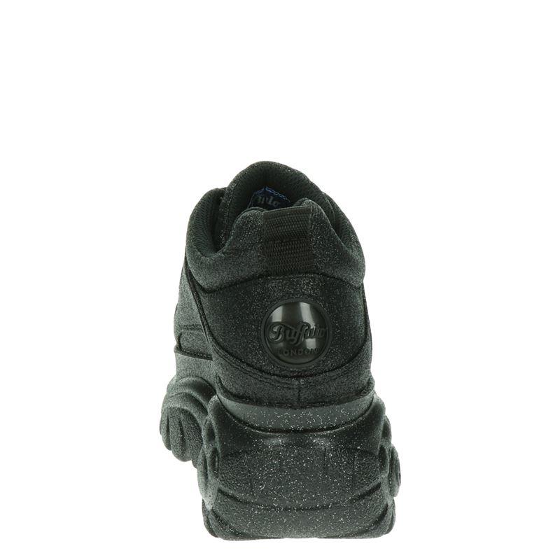 Buffalo Londen Black Glitter - Dad Sneakers - Zwart