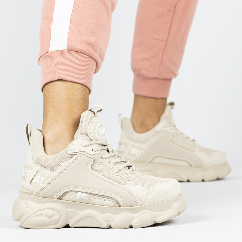 Buffalo Chai - Dad Sneakers - Beige