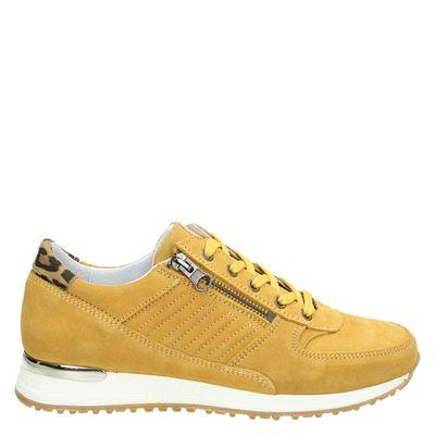 Nelson dames sneakers geel