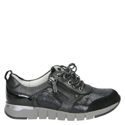 Waldläufer dames sneakers zwart