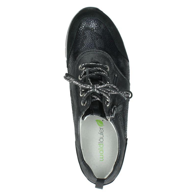 Waldläufer H-Petra - Lage sneakers - Zwart