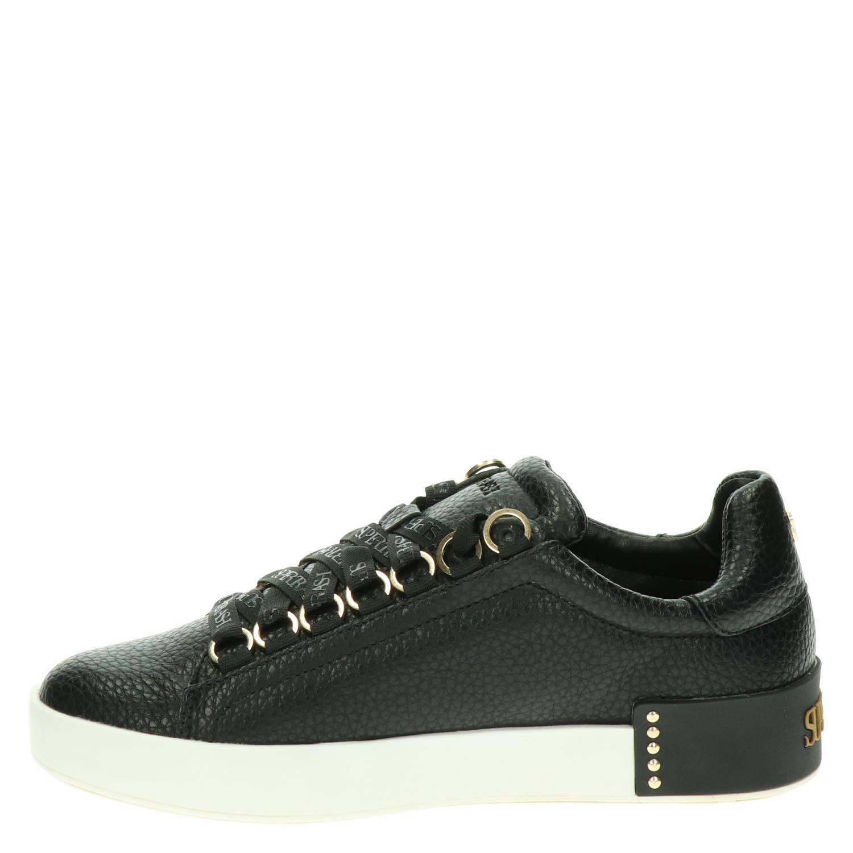 Supertrash Lina Low - Lage sneakers voor dames - Zwart IpF3KNg