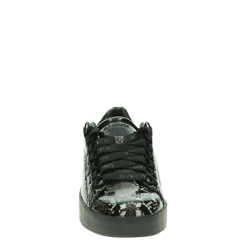 Supertrash Lina Low - Lage sneakers - Zwart