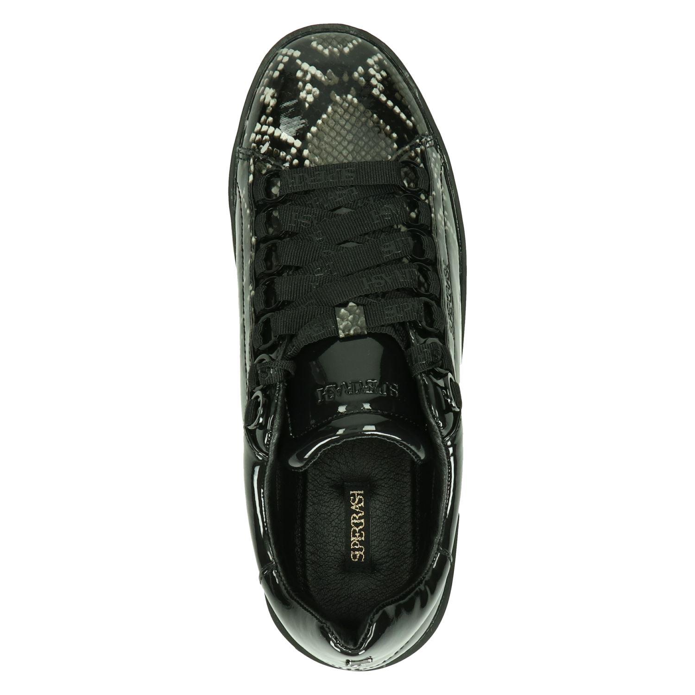 Supertrash Lina Low - Lage sneakers voor dames - Zwart LPeTE7a