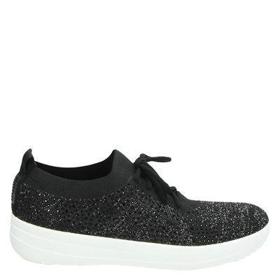 Fitflop dames sneakers zwart