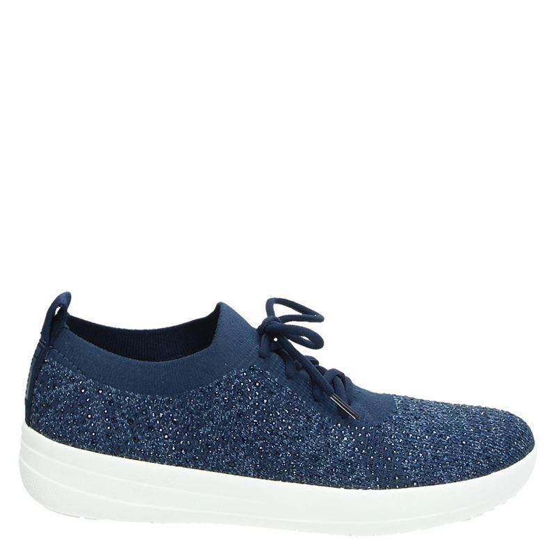 Fitflop Crystal Uberknit - Lage sneakers - Blauw