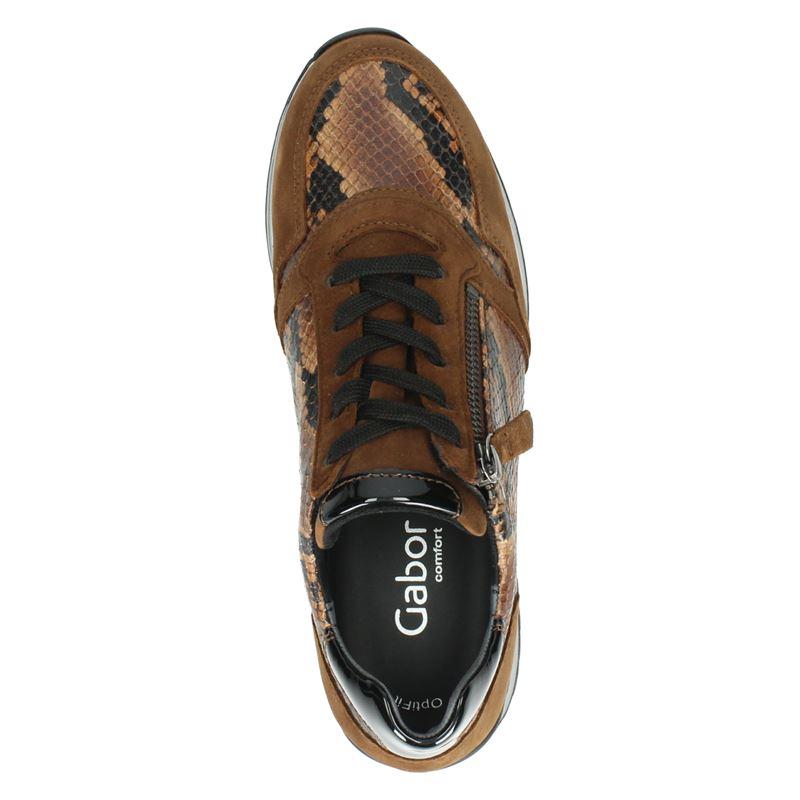 Gabor Turin H - Lage sneakers - Cognac