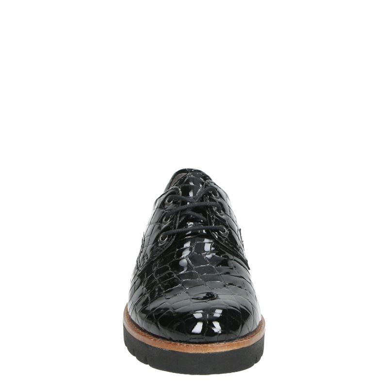Nelson zoe 01 - Veterschoenen - Zwart