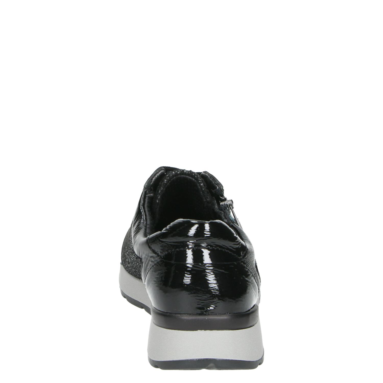 Nelson Mila 37 - Lage sneakers voor dames - Zwart uIk7akv
