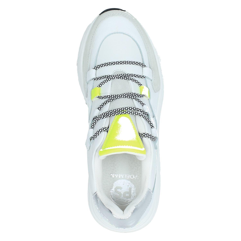 PS Poelman - Dad Sneakers voor dames - Wit TBqkwMH