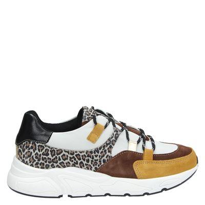 PS Poelman dames dad sneakers geel