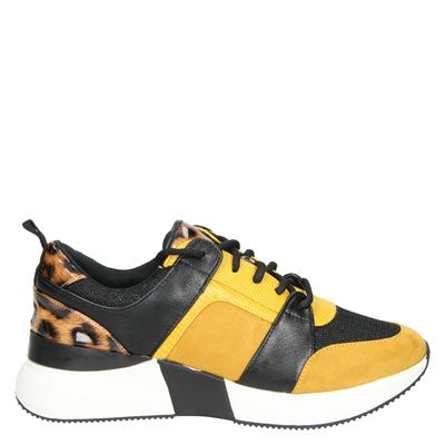 La Strada dames sneakers geel