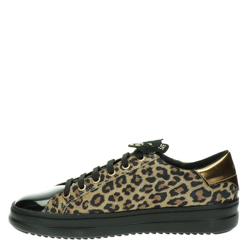 Geox Pontoise - Lage sneakers - Zwart