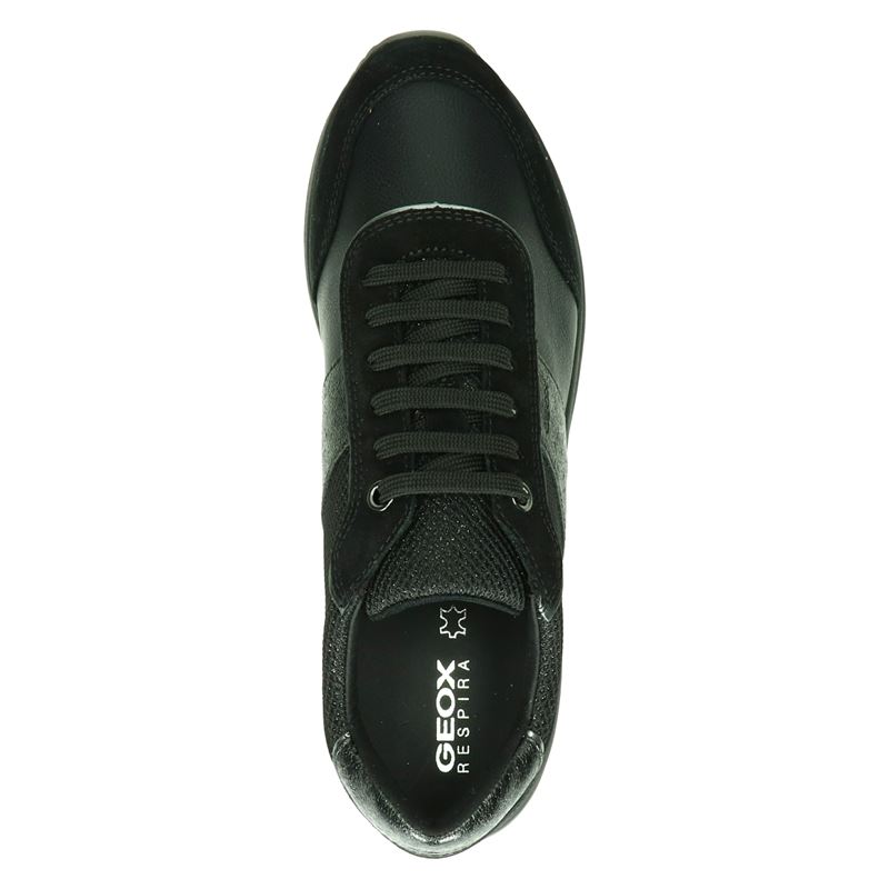 Geox Airell - Lage sneakers - Zwart