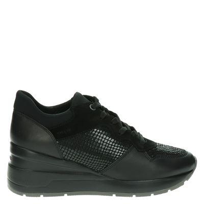 Geox dames sneakers zwart