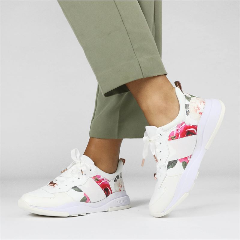 Ted Baker - Lage sneakers - Wit