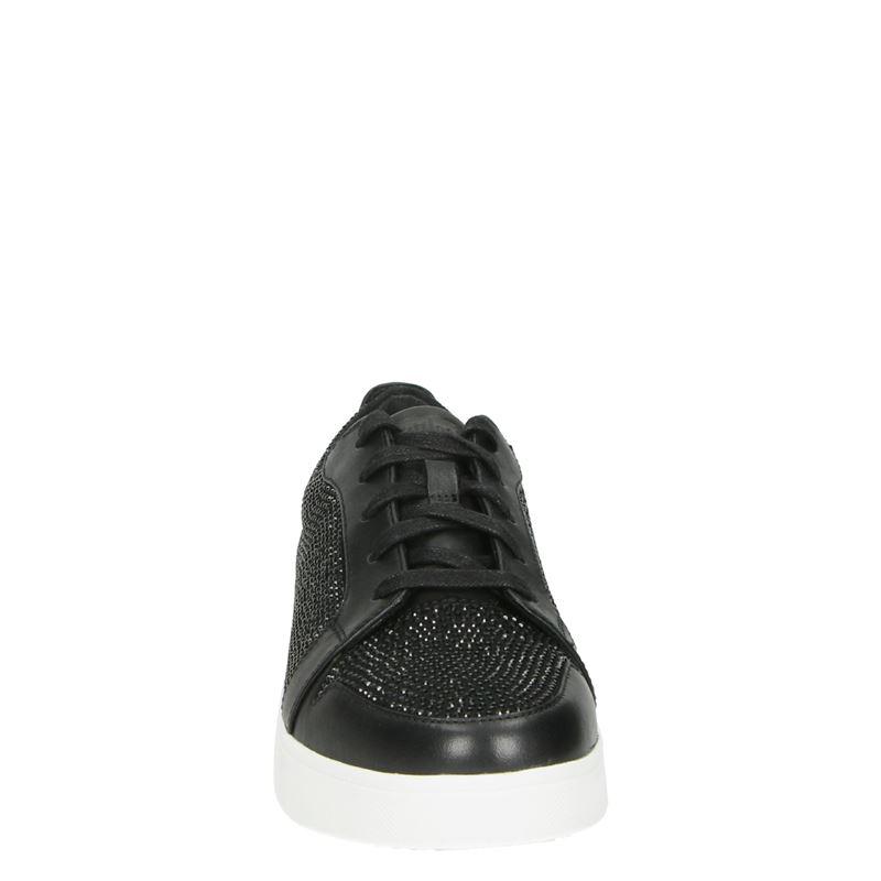 Fitflop - Lage sneakers - Zwart