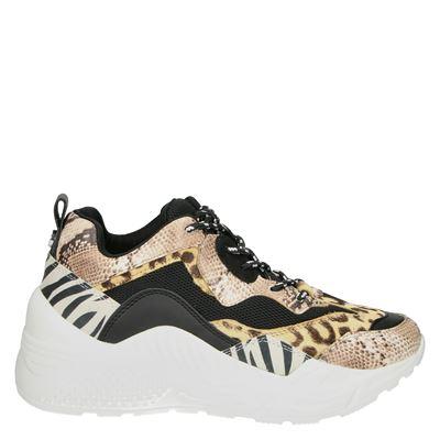 Steve Madden dames sneakers beige