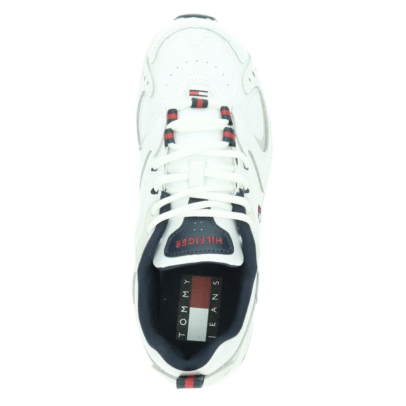 Tommy Jeans Heritage Retro - Dad Sneakers - Wit