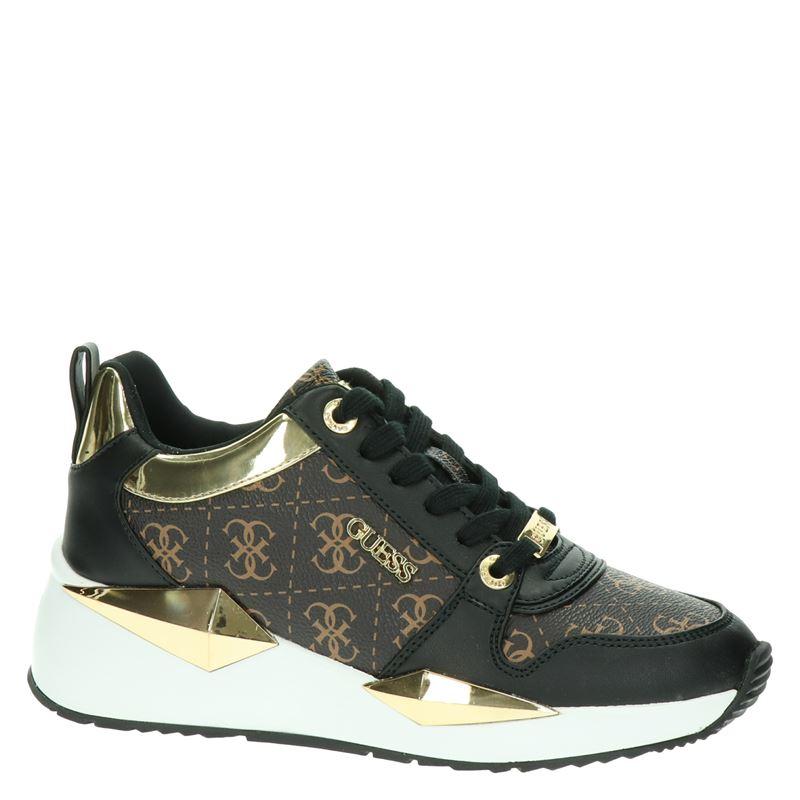 Guess Tallyn - Lage sneakers - Zwart