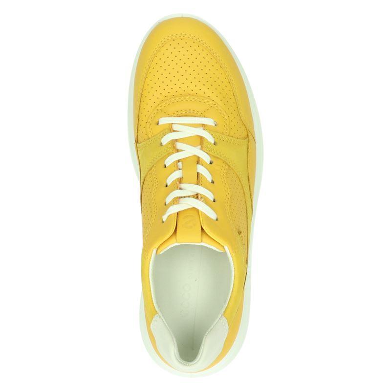 Ecco Soft 7 Runner - Lage sneakers - Geel