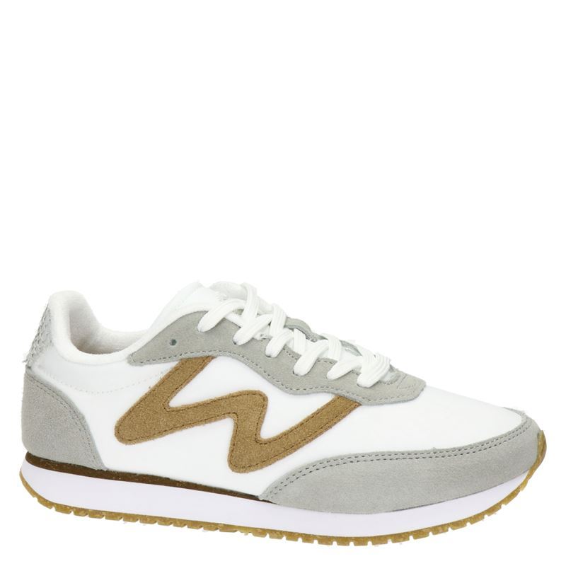 Woden Olivia - Lage sneakers - Wit