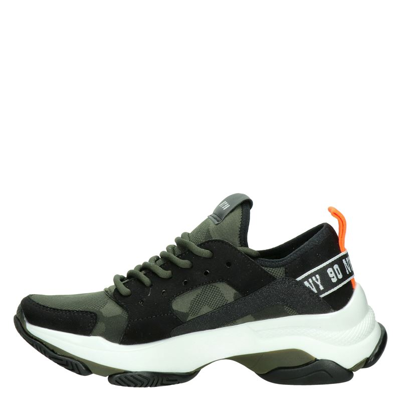 Steve Madden Ajax - Dad Sneakers - Zwart