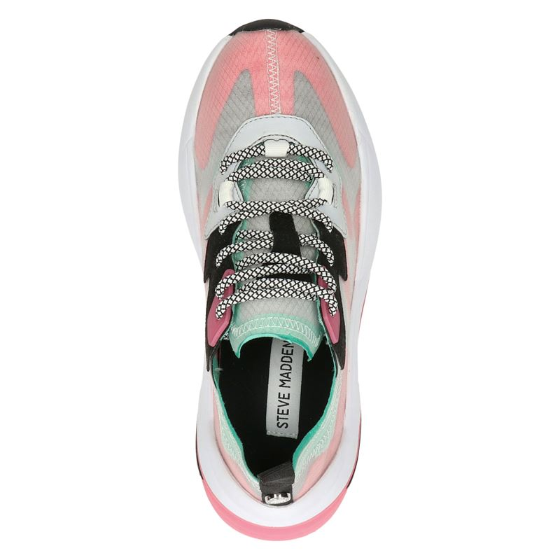 Steve Madden Charged - Dad Sneakers - Rood