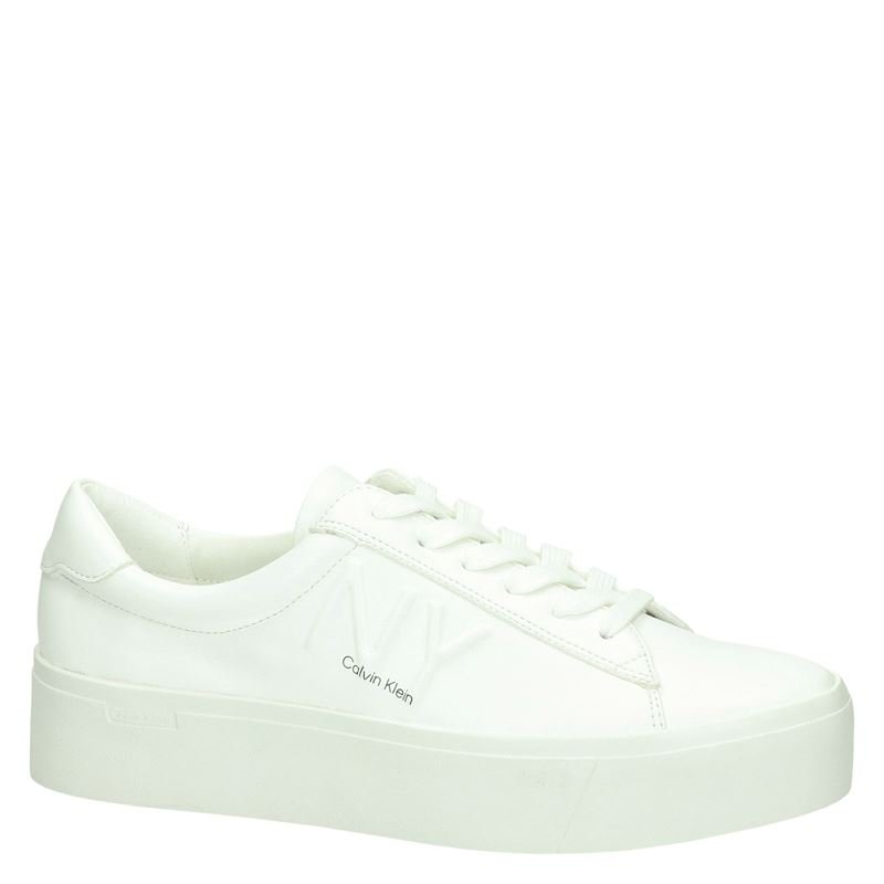Calvin Klein Jamella - Lage sneakers - Wit