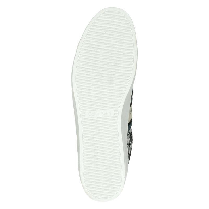 Calvin Klein Jinjer - Lage sneakers - Blauw