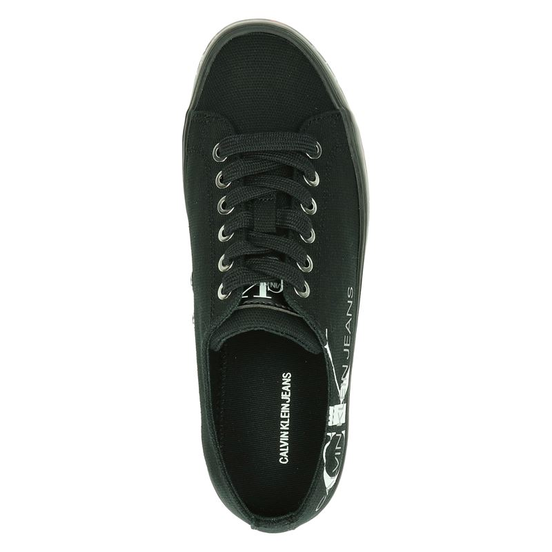 Calvin Klein Zamira - Platform sneakers - Zwart