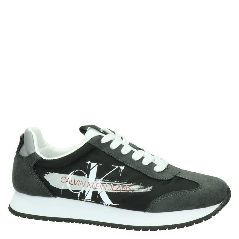 Calvin Klein Jeeney - Lage sneakers - Zwart