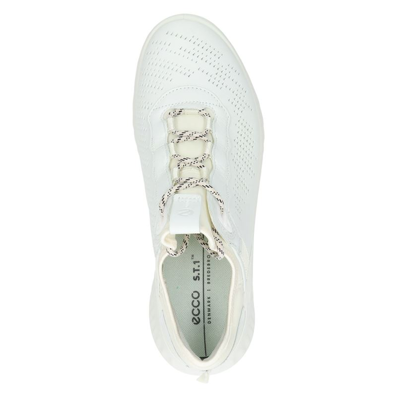 Ecco ST.1 Lite - Lage sneakers - Wit
