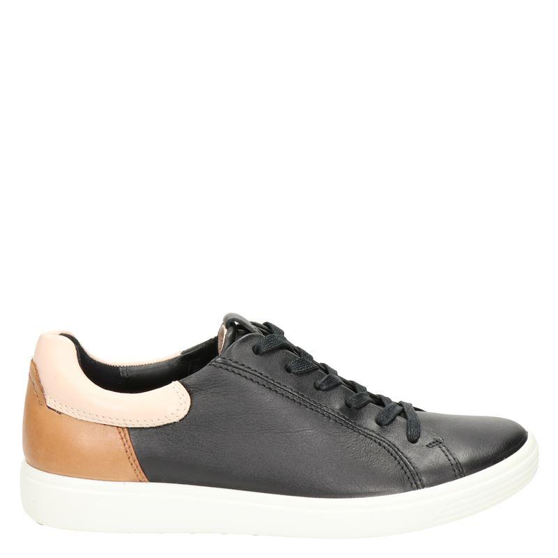 Ecco Soft 7 - Lage sneakers - Zwart