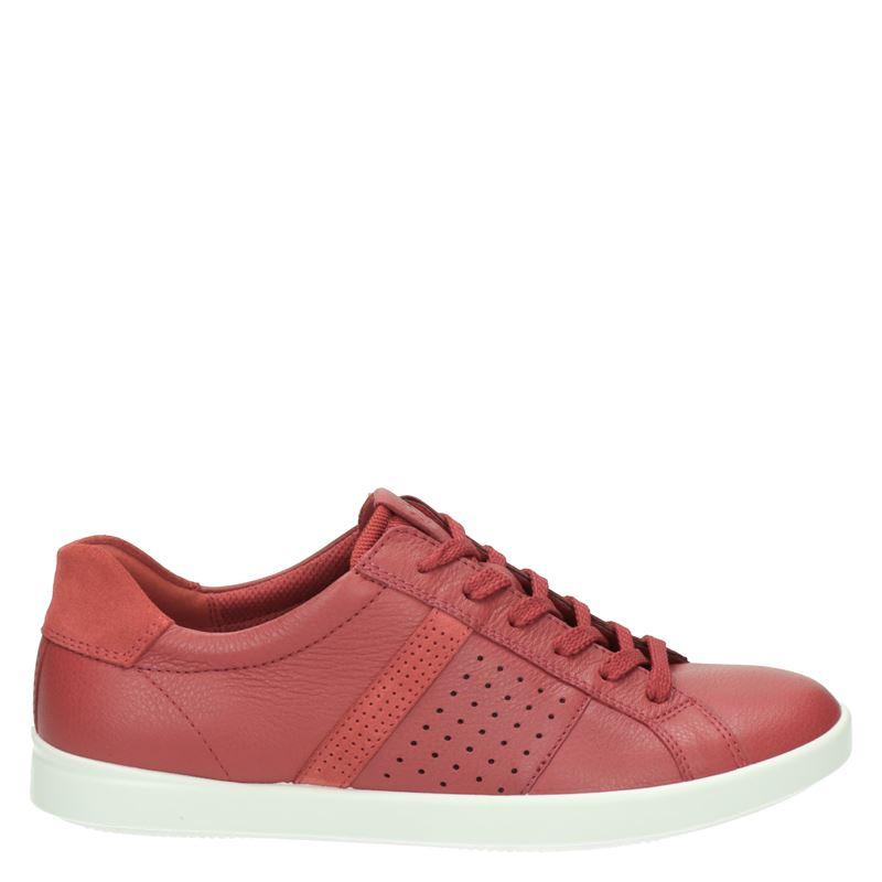 Ecco Leisure - Lage sneakers - Rood